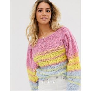 Asos Chunky open knit sweater